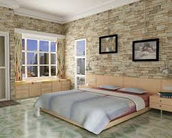Lovely ... Bedroom With Stone Wall Texture | By Mahir_jimax
