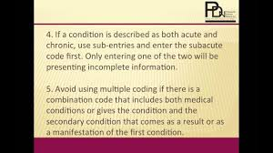 Lean From These Inpatient Coding Rules And Tips For Accuracy