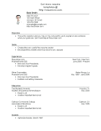Free Easy Resume Magnificent Free Sample Resumes Online Nanomedia Resume Example