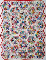 Grandmother's Flower Garden Doll Quilt – Tied – Q is for Quilter & RSS Adamdwight.com