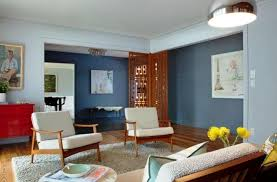 fine white and grey mid century modern apartment living room design with wooden flooring and gray gy rug