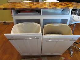 Kitchen Cabinet Garbage Can Kitchen Cabinet Trash Can Replacement