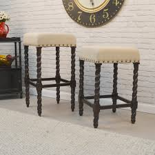 cream colored bar stools. beautiful colored charlotte bailey cream linen and espresso wood twisted leg bar stool throughout colored stools o