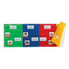 Magnetic Pocket Chart Squares Magnetic Pocket Chart Squares Set Of 4 By Learning Resources