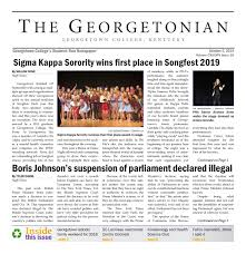 Georgetonian Issue 16 By The Georgetonian Issuu