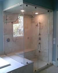 frameless glass showers enclosures