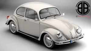 Volkswagen Beetle 2003 Ultima Edicion 3D Model in Old Cars 3DExport