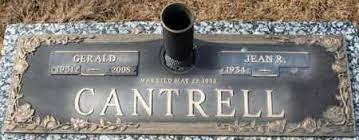 CANTRELL, GERALD - Craighead County, Arkansas   GERALD CANTRELL - Arkansas  Gravestone Photos