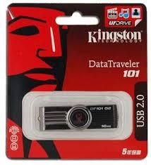 <b>Genuine Kingston</b> DT101 G2 16GB <b>USB Flash Drive</b> (Black ...