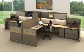 #254 9'x7 High/low Cubicle 1