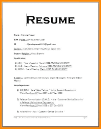 Simple Resume Best Simple Resume Format Free Download As Well As Simple Resume Format