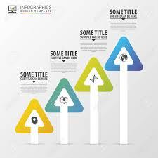 Modern Arrows Infographic Design Template Timeline Vector