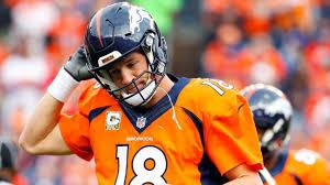 peyton manning broncos. Peyton Manning Of Denver Broncos Pulled On Same Day He Sets NFL Record For  Yards Peyton Manning Broncos N
