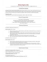 Dental Assistant Resume In Kansas Sales Dental Lewesmr