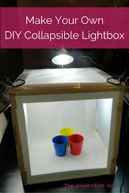 diy collapsible lightbox
