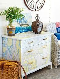 nautical map decor ideas nautical furniture decor