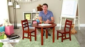 lipper childrens round table and chair set review you