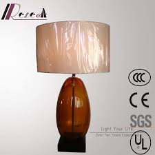 china antique hotel decorative bronze glass bedside table lamp china table lamp glass table lamp