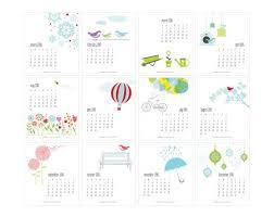 Desk Calendar Printable Yearly Calendar Cute Templates Free Printable