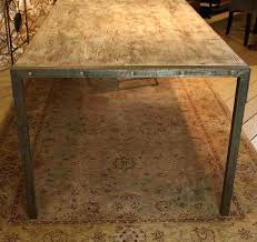 dining tables made from reclaimed wood custom made urban dining table reclaimed wood top distressed metal
