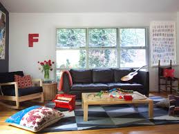 Living Room Black Leather Sofa Living Room Black Leather Sofa Stained Wooden Coffee Table Bold