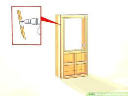 install storm door tutorial how to replace installation instructions for larson latch screen plate ventilating doors storm door