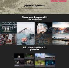 Light Box In Html Example 27 Stunning Html Bootstrap Image Slideshow And Gallery Examples
