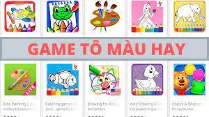 Tổng hợp các game tô màu hay cho trẻ con trên Android và iOS