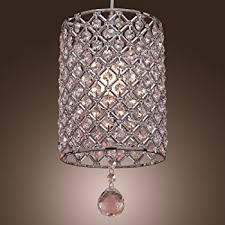 contemporary crystal pendant lighting. LightInTheBox Contemporary Crystal Drop Pendant Light In Cylinder Style Lighting E