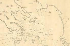 1850 Nautical Chart Of San Francisco Bay