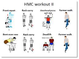 hmc workout i hmc workout ii