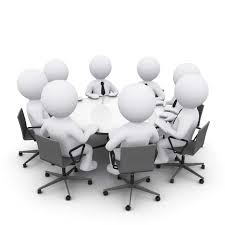 clip art roundtable meeting