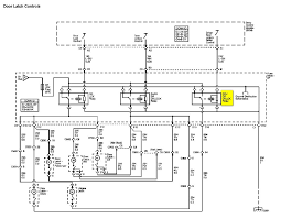 the driver door will not electronically only manually pulling that relay is located in the instrument panel ip fuse block here is a label that relay highlighted