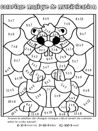 Coloriage Magique Multiplication Une Grenouille L