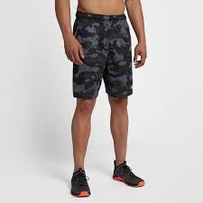 nike dri fit men s knit camo shorts