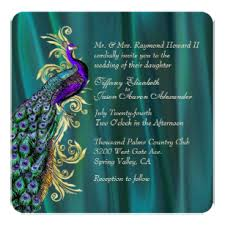 peacock invitations peacock invitations 3500 peacock announcements invites