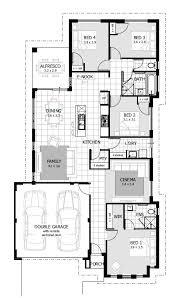 floorplan preview 4 bedroom milne house design