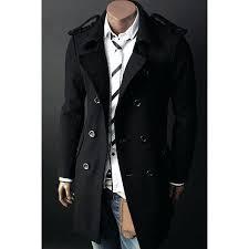 long mens pea coat armor lux long sleeve coat mens pea coat jackets