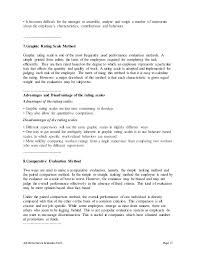 Customer Service Executive Performance Appraisal