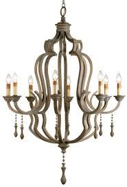 metal and wood chandelier. Currey \u0026 Company Waterloo Iron/Wood Chandelier By Metal And Wood F