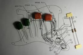 sprague orange drop 225p greasebucket tone upgrade for 1 pot fits pair highway 1 type greasebucket guitar tone upgrade capacitors kit for 2 pots