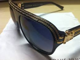 louis vuitton sunglasses. louis vuitton sunglasses (men\u0027s pre-owned millionaire lv black sun glasses) c