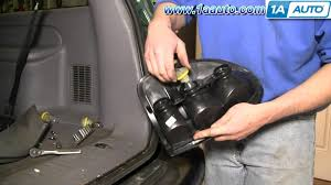 how to install replace taillight dodge durango minivan 96 03 Rear Light Wire Harness For 2003 Dodge Durango how to install replace taillight dodge durango minivan 96 03 1aauto com youtube