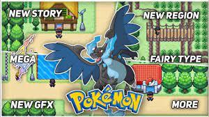 New Pokemon GBA Rom Hack/Game 2021 with Gen 8, Mega Evolution, New Region,  Fairy Type & More!