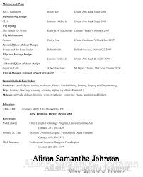 Photographer Resume Objective Portrait Photographer Resume Resume For Study 88