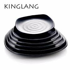 Melamine Dinnerware Designs Us 11 19 20 Off Classical Design Melamine Dishes Square Shape Dinner Plate For Buffet Western Lunch Plate In Dinnerware Sets From Home Garden On