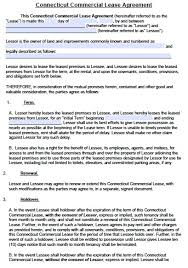 Office Rental Agreement Template Commercial Lease Agreement Real Estate Forms