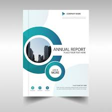 cover page designs for reports brochure with circular shapes annual report vector free