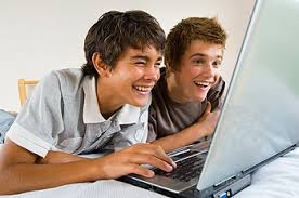 Image result for teen on internet