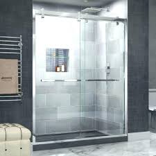 clear shower doors glass shower door bottom sweep large size of clear sliding shower clear shower